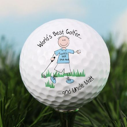 Personalise Golf Ball - World's Best Golfer